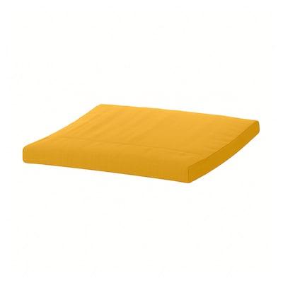 POÄNG Almofada p/repousa-pés, Skiftebo amarelo