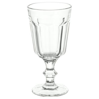 POKAL Copo de vinho, vidro transparente, 20 cl