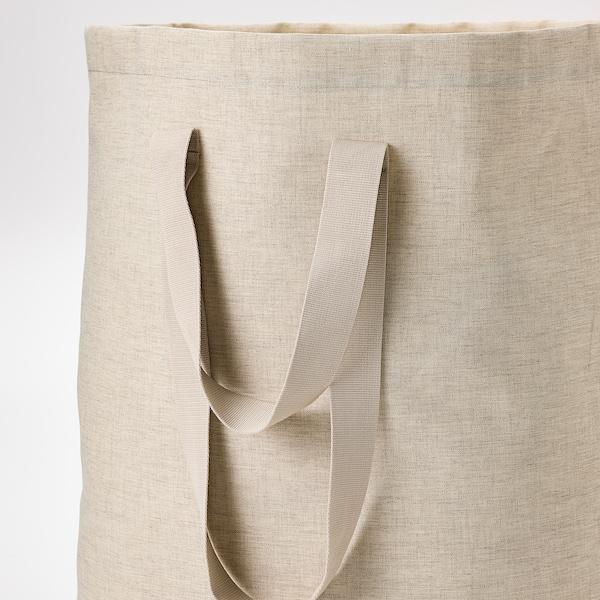 PURRPINGLA Saco p/roupa, bege, 100 l