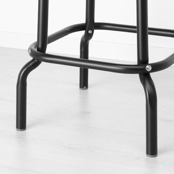 RÅSKOG Banco alto, preto, 63 cm