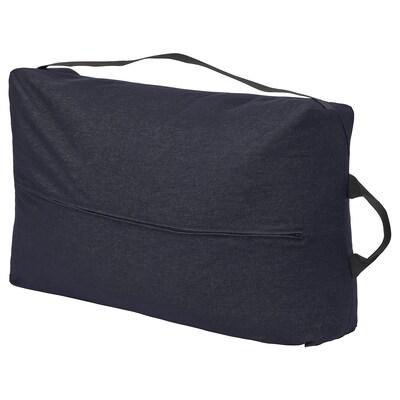 RÅVAROR Saco de arrumação, Vansta azul escuro, 78x50 cm