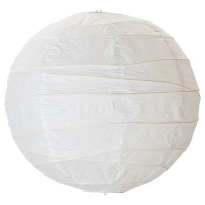 REGOLIT Abajur p/candeeiro suspenso, branco/feito à mão, 45 cm