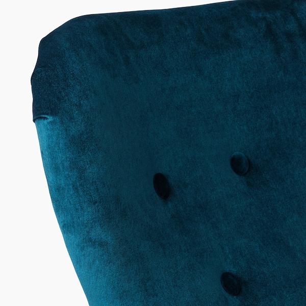 REMSTA Poltrona, Djuparp azul esverdeado escuro