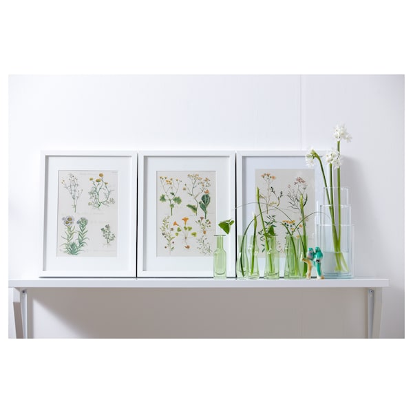 RIBBA Moldura, branco, 30x40 cm