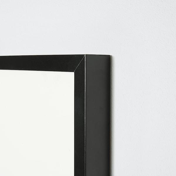 RIBBA Moldura, preto, 50x70 cm