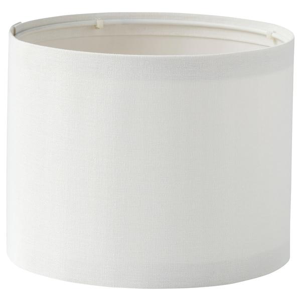 RINGSTA Abajur, branco, 19 cm