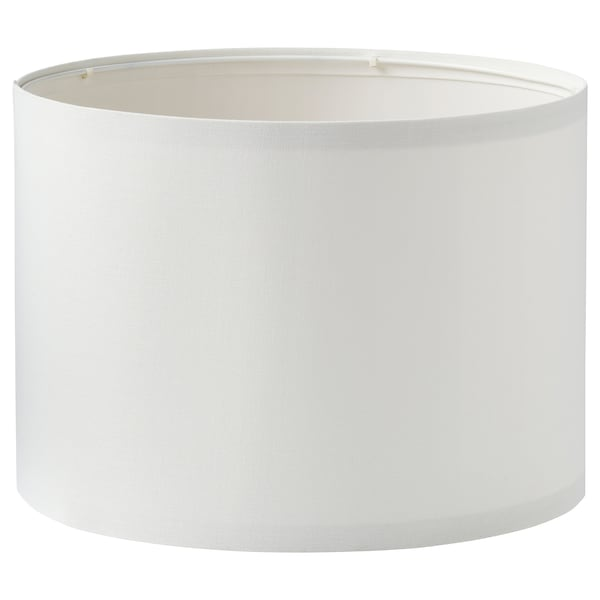 RINGSTA Abajur, branco, 33 cm
