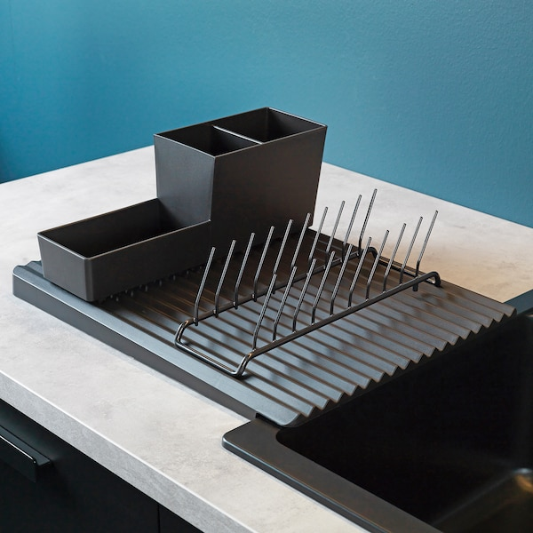 RINNIG Escorredor p/loiça reversível, 40x31 cm