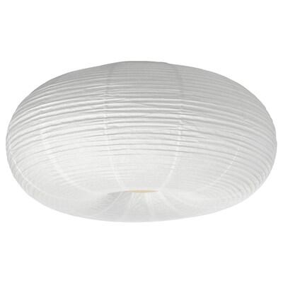 RISBYN Candeeiro LED de teto, branco, 50 cm