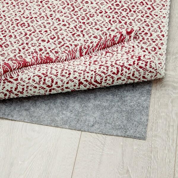 RÖRKÄR tapete, tecelagem plana verm/cru 150 cm 80 cm 1.20 m² 1475 gr/m²