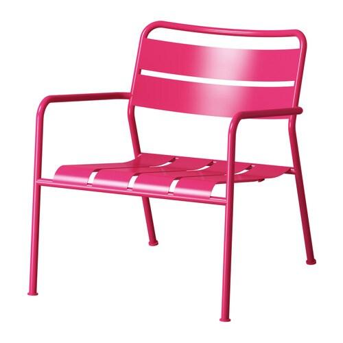 ROXÖ Cadeira de esplanada c/braços IKEA Os materiais deste móvel de exterior não requerem manutenção.