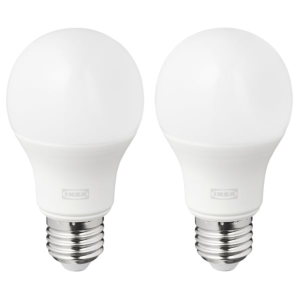 RYET Lâmpada LED E27 1055 lúmenes, globo branco opala