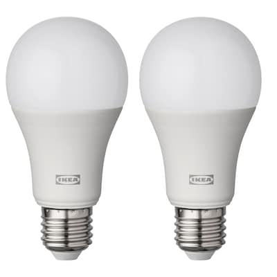 RYET lâmpada LED E27 1521 lúmenes globo branco opala 2700 K 1521 Lumen 60 mm 14.5 W 2 unidades
