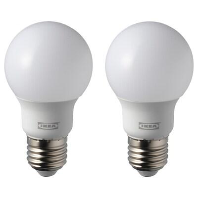 RYET lâmpada LED E27 600 lúmens globo branco opala 5000 K 600 Lumen 5.4 W 2 unidades
