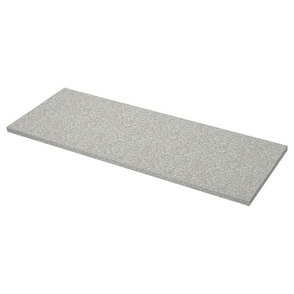SÄLJAN bancada cinz clr efeito mineral/laminado 186 cm 63.5 cm 3.8 cm