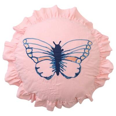 SÅNGLÄRKA Almofada, padrão c/borboletas