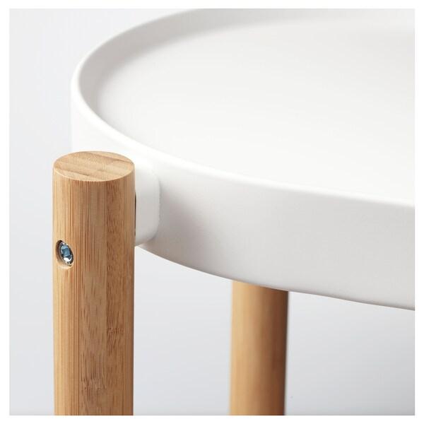 SATSUMAS floreira bambu/branco 84 cm 28 cm 70 cm 15 kg