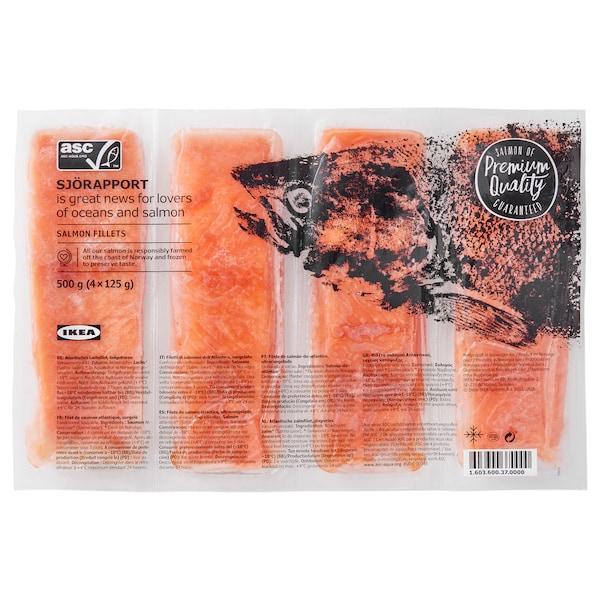 SJÖRAPPORT Lombo de salmão, certificado ASC/congelado