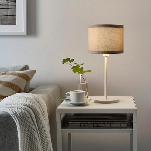 SKAFTET Base p/candeeiro mesa, branco, 30 cm