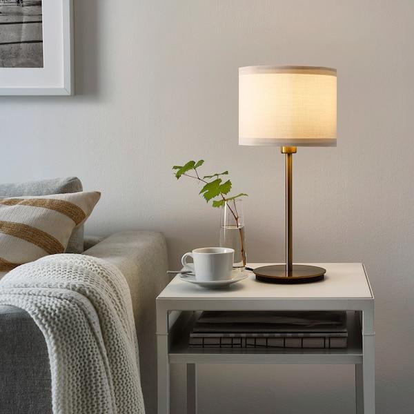SKAFTET Base p/candeeiro mesa, bronze, 30 cm