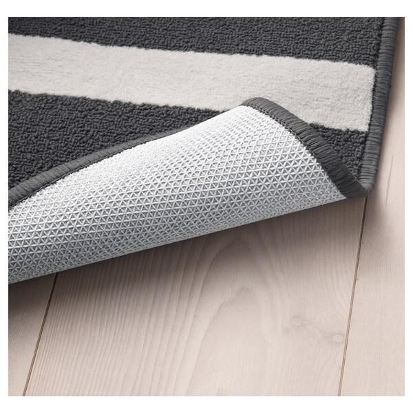 SKELDE tapete pelo curto preto/multicor 180 cm 120 cm 7 mm 2.16 m² 900 gr/m² 340 gr/m²