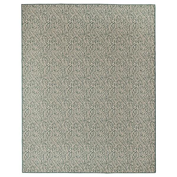 SKELUND tapete tecelag plana, int/exterior bege esverdeado 250 cm 200 cm 4 mm 5.00 m² 1295 gr/m²