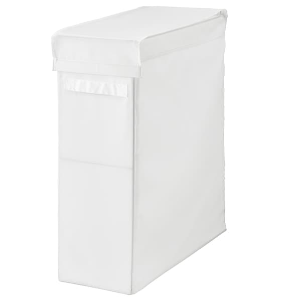 SKUBB Saco p/roupa c/suporte, branco, 80 l