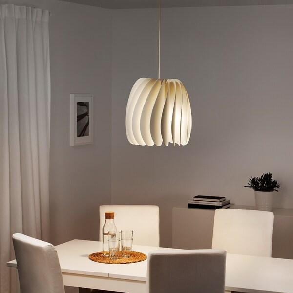 SKYMNINGEN candeeiro suspenso branco 22 W 40 cm 42 cm 1.5 m