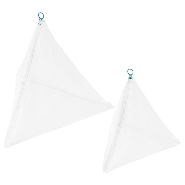 SLIBB Saco p/lavar roupa, conj. 2, branco