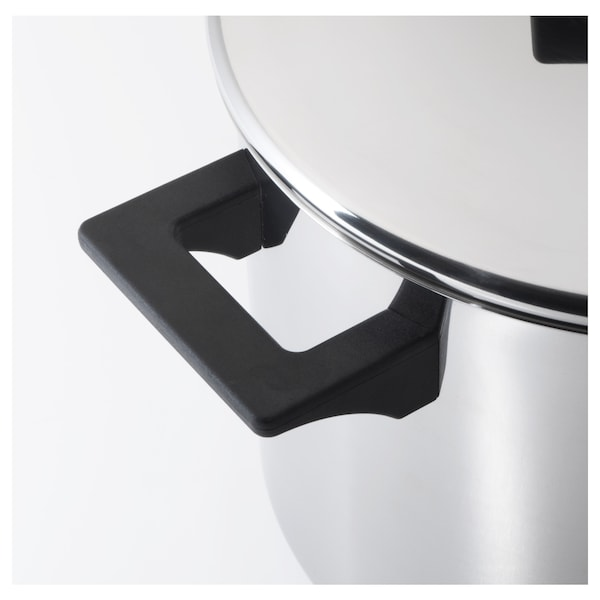 SNITSIG Panela c/tampa, aço inoxidável, 8.5 l