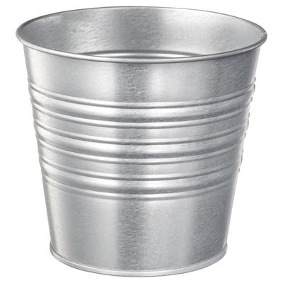 SOCKER Vaso, interior/exterior/galvanizado, 12 cm