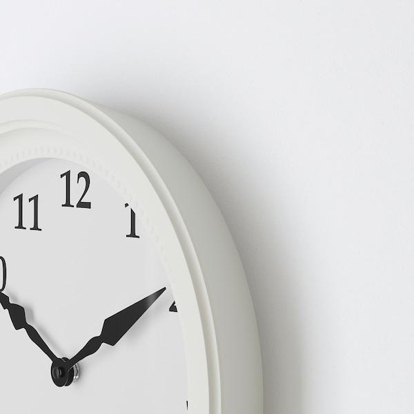 SÖNDRUM relógio de parede branco 35 cm 6 cm