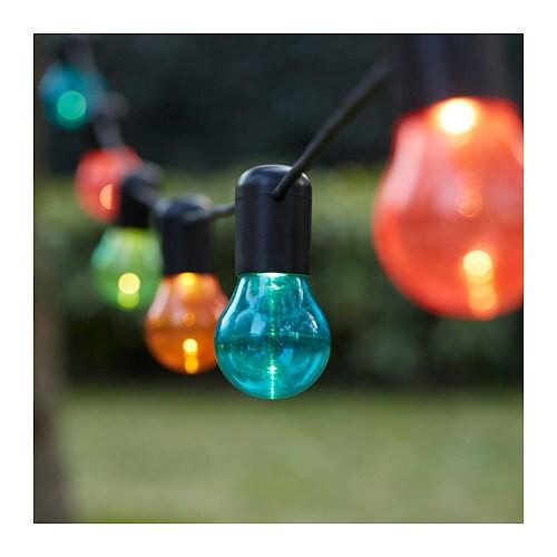Solvinden sistema ilumina o led 12 l mpadas ikea - Lampada a led ikea ...