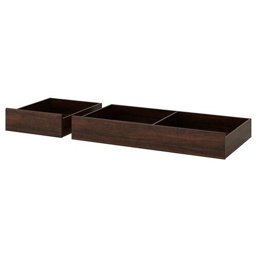 IKEA SONGESAND Caixa arrumação p/cama, conj. 2