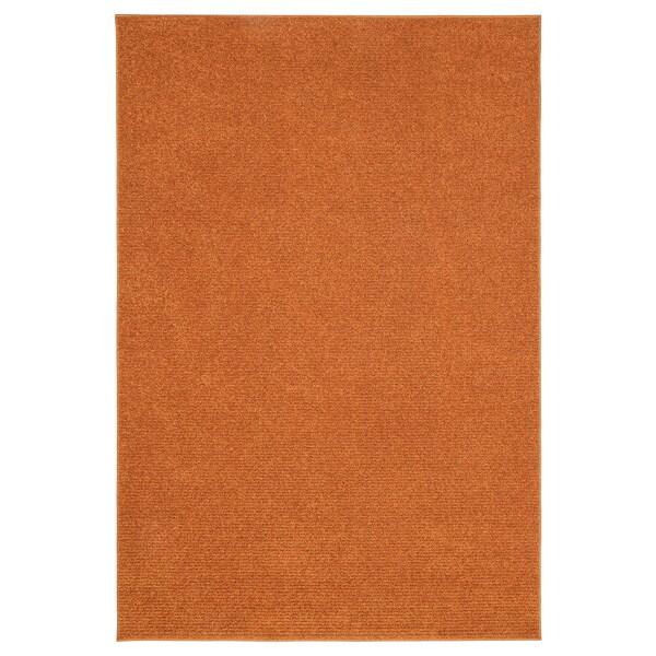 SPORUP Tapete pelo curto, castanho, 133x195 cm