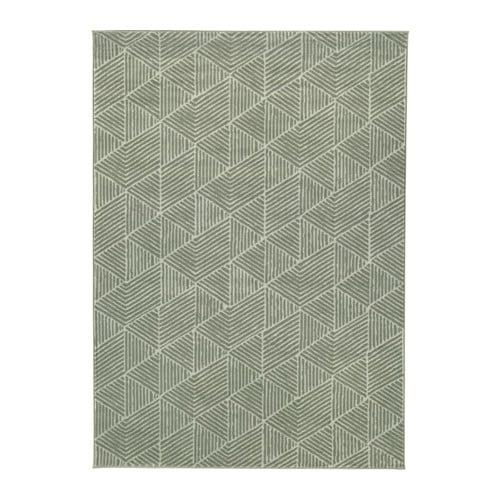 stenlille tapete pelo curto verde  0482186 PE619980 S4 - Ikea Tapete