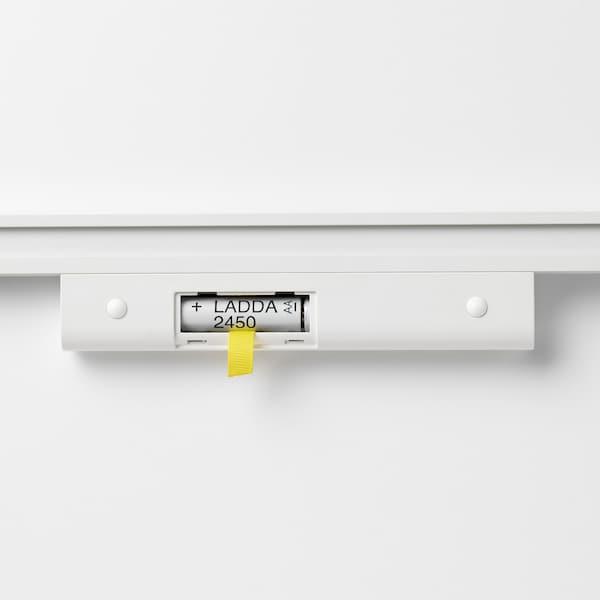 STÖTTA Iluminação LED p/armário c/sensor, a pilhas branco, 32 cm