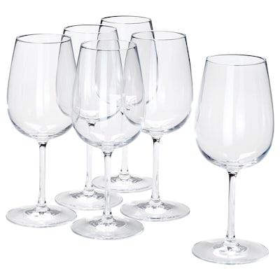 STORSINT copo de vinho vidro transparente 21.5 cm 49 cl 6 unidades
