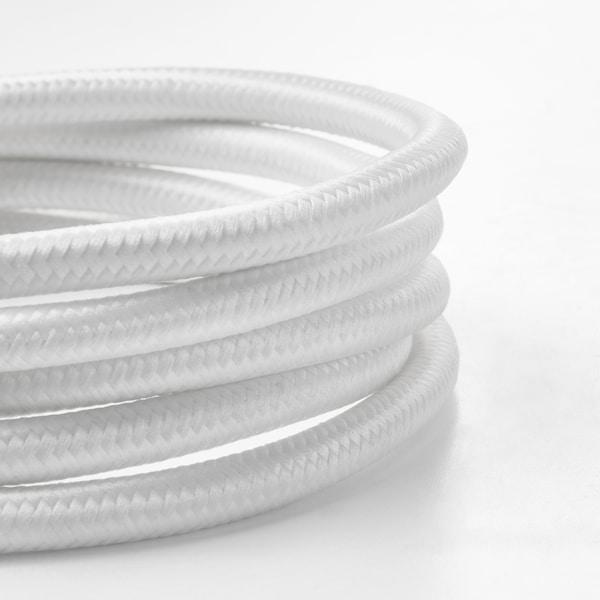 SUNNEBY Conjunto de cabos, branco têxtil, 1.8 m