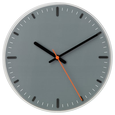SVAJPA Relógio de parede, 30 cm