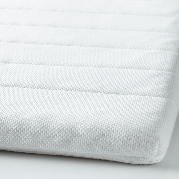 TALGJE Sobrecolchão, branco, 140x200 cm