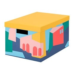 TJENA Caixa de arrumação c/tampa 4€