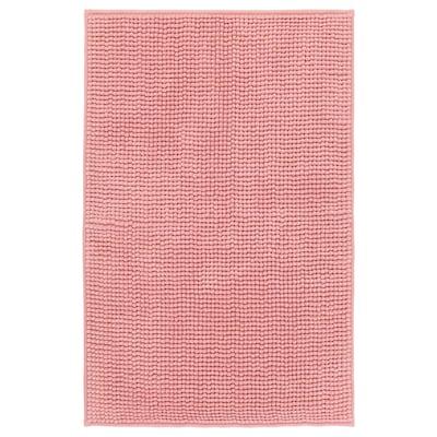 TOFTBO tapete de casa de banho rosa 80 cm 50 cm 0.40 m² 1410 gr/m²