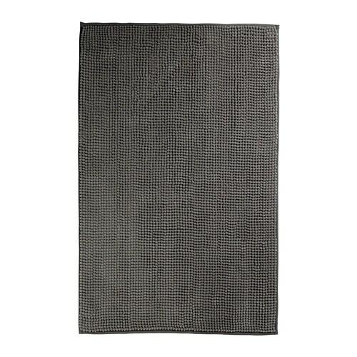 TOFTBO Tapete de casa de banho IKEA De microfibras: extra suave, absorvente e seca rápido.