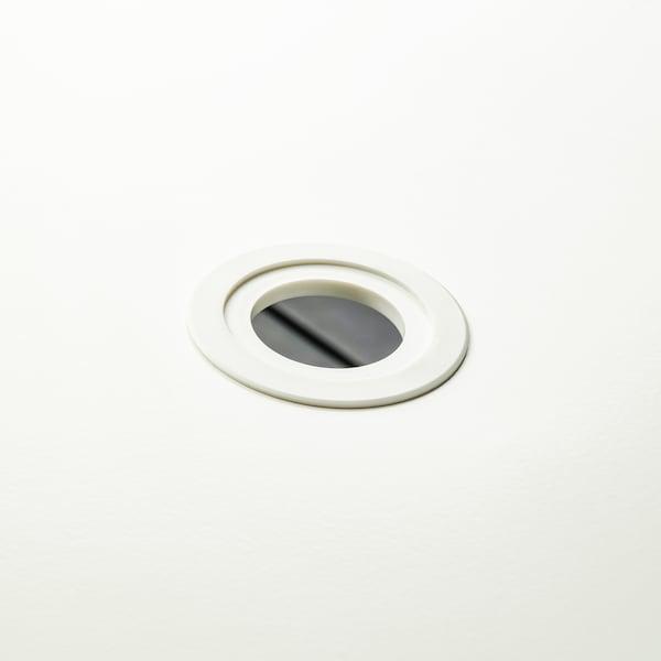 TORPARÖ Mesa, exterior, branco/dobrável, 130x74 cm