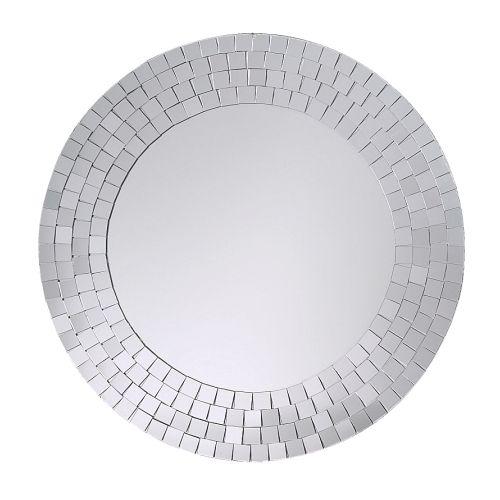 TRANBY Espelho IKEA Feito à mão; cada espelho é único. Adequado para usar em áreas muito húmidas.