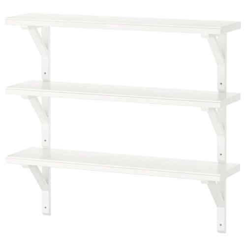 IKEA TRANHULT / SANDSHULT Comb estante parede