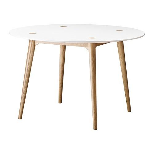 TRENDIG 2013 Mesa de refeição IKEA Para 4 pessoas. O tampo tem orifícios pré-furados na parte inferior para ser fácil de montar.