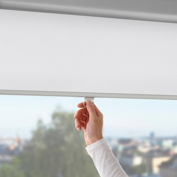 TRETUR Estore de correr opaco, branco, 120x195 cm