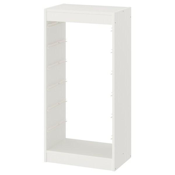 TROFAST Estrutura, branco, 46x30x94 cm